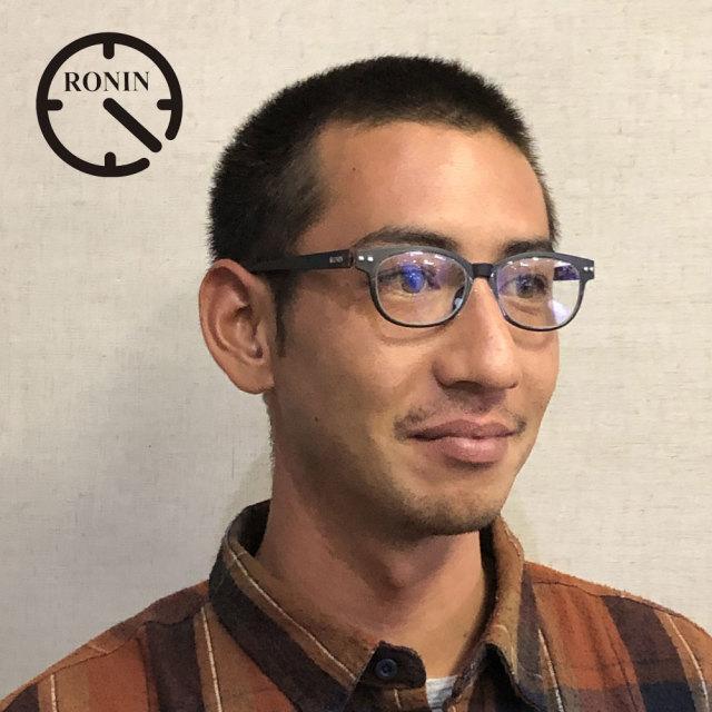 ロニンアイウェアー リーディンググラス RG3 老眼鏡 シニアグラス Ronin Eyewear RONIN Reading Glass Type-Three