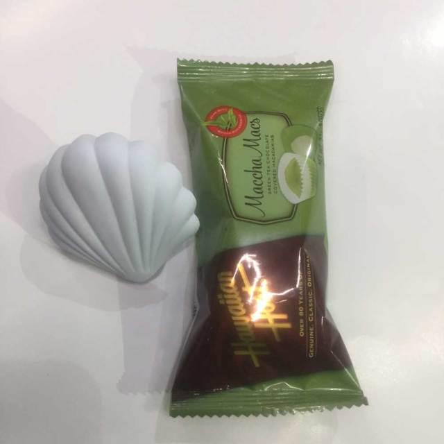 ホワイトデーギフト アロマストーン 車用エアフレッシュナー+ハワイアンホーストチョコレート/抹茶orホワイトチョコレート