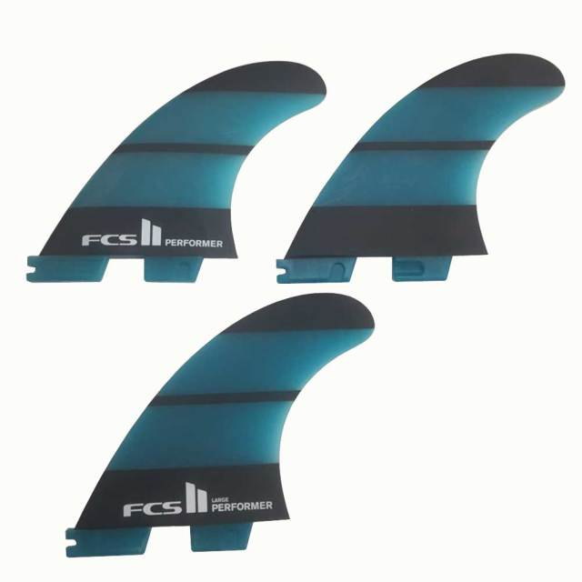 FCS2 PERFORMER LARGE Neo Glass THRUSTER 3FINS ハイパフォーマンスフィン/ショートボード サーフィン