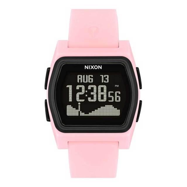 NIXON 腕時計 THE RIVAL PINKBLACK/ニクソン ライバル ピンクブラック