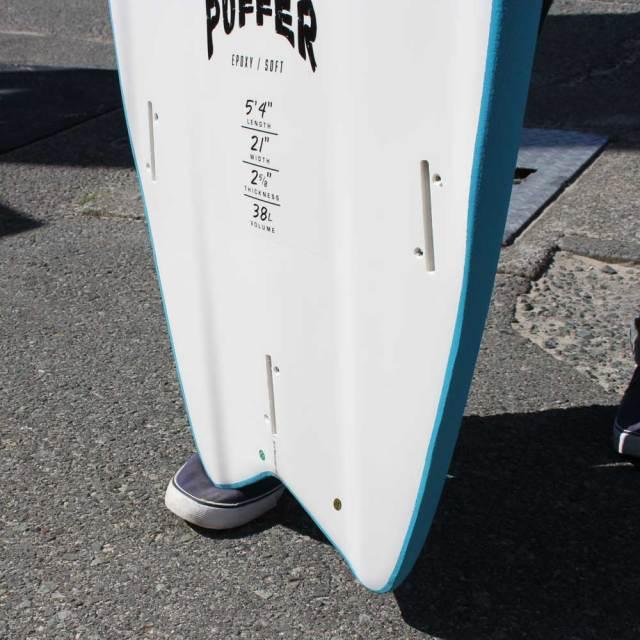 ソフトボード OCEAN&EARTH PUFFER 5'4 オーシャンアンドアース パファー ショートボード サーフィン ソフトサーフボード