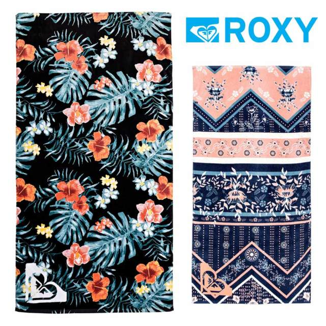 ROXY ロキシー ビーチタオル PRETTY SIMPLE GIRL ERGAA03065 バスタオル