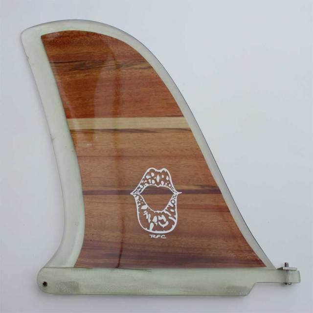 ロングボードフィン レインボーフィン トラビス・レイノルズ 10.0 クラシックウッドシリーズ