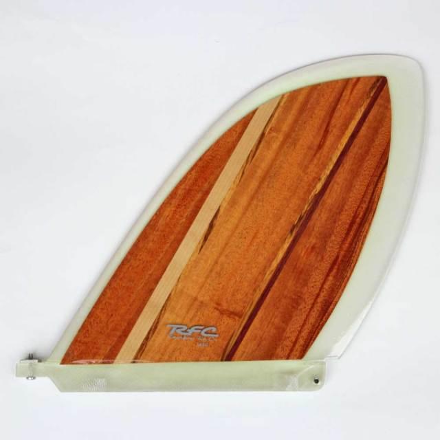 ロングボードフィン レインボーフィン スケッグ ベルジー 8.5 クラシックウッドシリーズ Rainbow fin classic wood Skeg VELZY センターフィン シングルフィン サーフィン