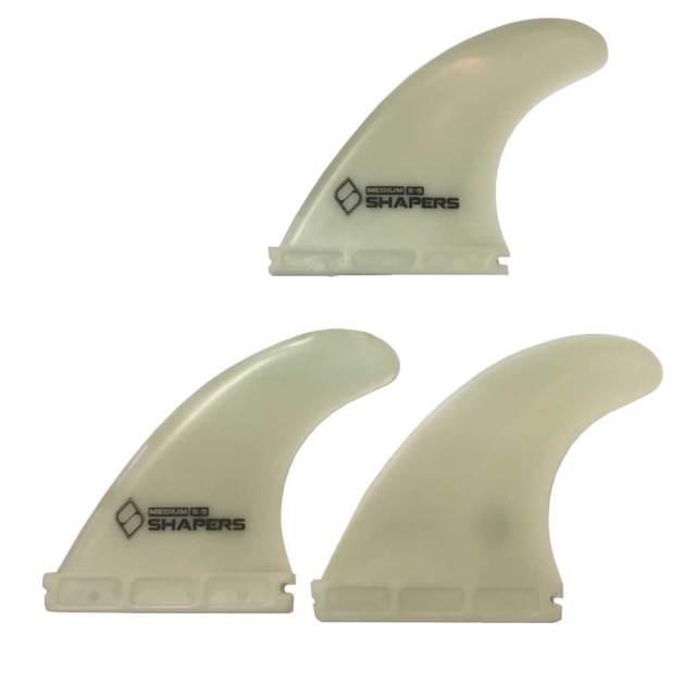 SHAPERS FINS Fibre FLex S5 FUTUREタイプ 3フィン/シェーパーズフィン ファイバーフレックス ショートボード サーフィン
