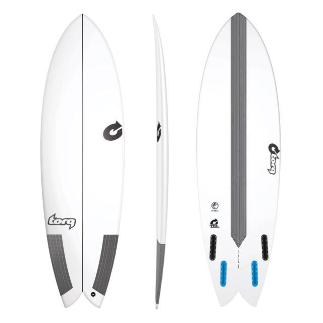 TORQ Surfboard トルクサーフボード TEC FISH 5'8 EPS フィッシュ エポキシ ショートボード