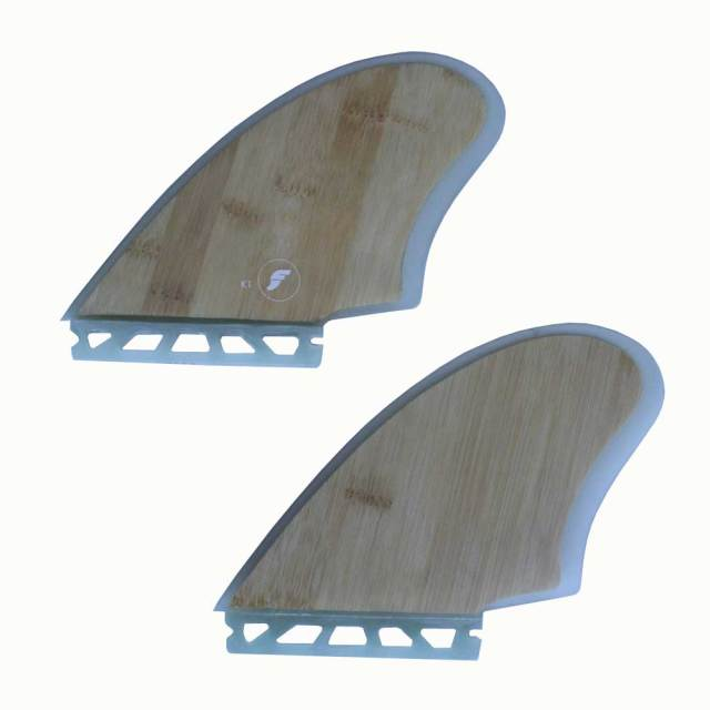 FUTURES FINS RTM HEX TWIN KEEL FK1 BAMBOO 2フィン ツウィンフィン