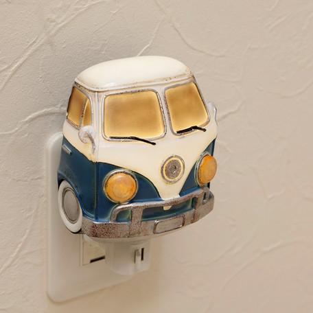 LED電球 NEWフットランプ コンセントライト ブルーワーゲンバス