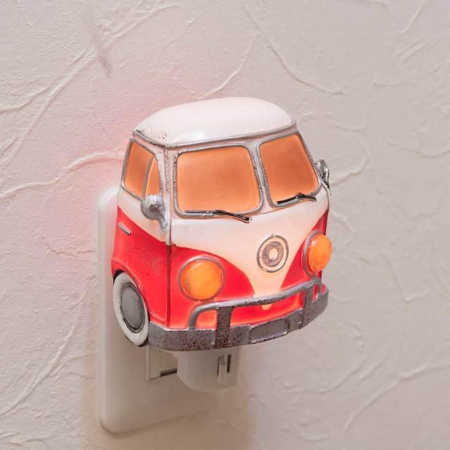 フットライト レッドワーゲンバス LED電球 NEWフットランプ コンセントライト