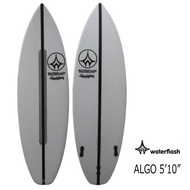 """ショートボード サーフボード ウォーターフラッシュ アルゴ 5'10"""" WaterFlash ALGO FCS2 トライフィンスカッシュテール サーフィン"""