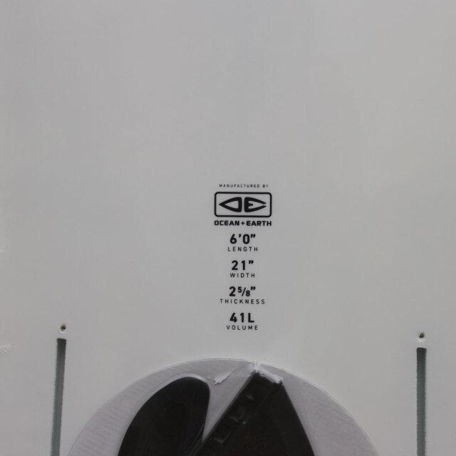 """OCEAN&EARTH MR エポキシ ソフトボード  6'0"""" ツインフィン マーク リチャーズ モデル"""