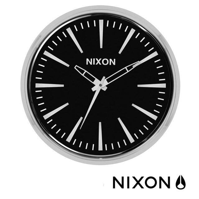 【送料無料】 壁掛け時計 ニクソン セントリーウォールクロック NIXON Sentry Wall Clock 掛け時計 おしゃれ 海外 ブランド シンプル 見やすい おすすめ 人気 インテリア クリスマス プレゼント