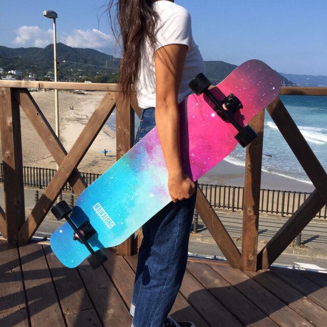 ロングスケートボード コンプリート クルーザー ロングボード