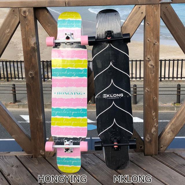 ロングスケートボード コンプリート クルーザー 110×23.5cm
