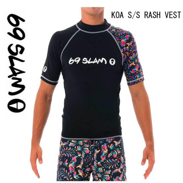 69slam MEN RASH VEST メンズラッシュガード TIGER SKULL MRVTKL-PA