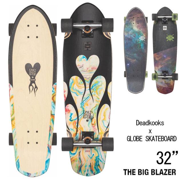 スケートボード コンプリート 32インチ デッドクックス×グローブ ビッグブレザー 6.0インチ
