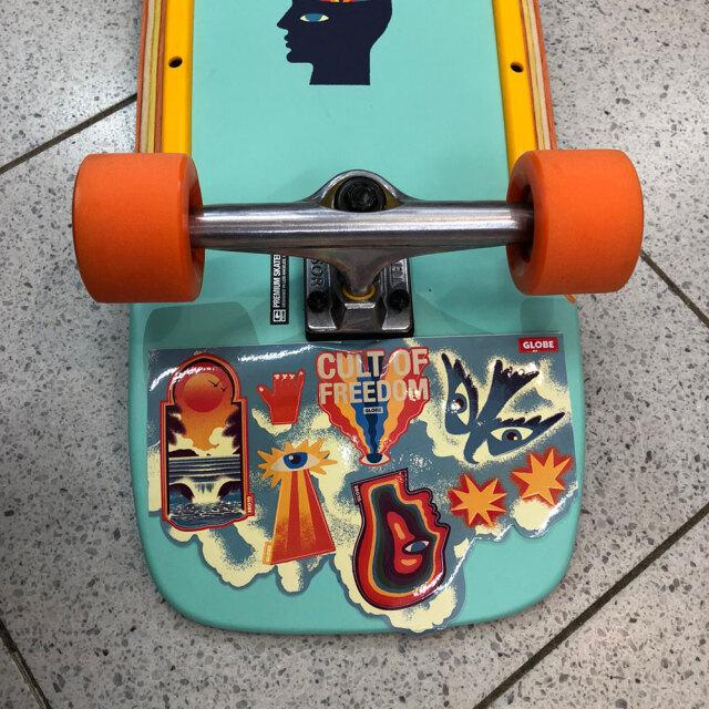 スケートボード コンプリート 30インチ デッドクックス×グローブ バーナー