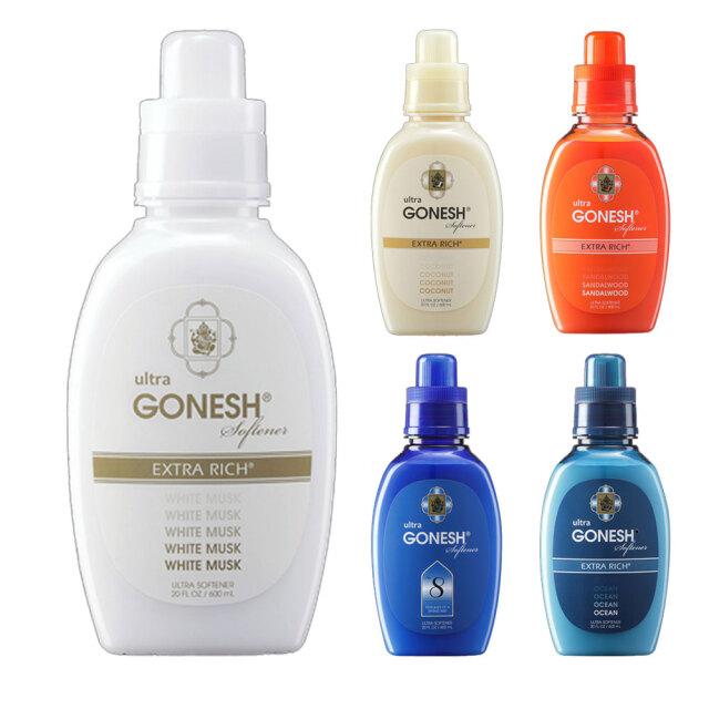 GONESH Softener ガーネッシュウルトラソフナー 洗濯用柔軟剤 600ml