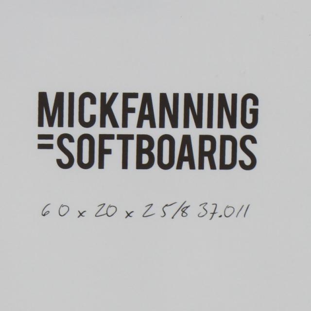 ソフトボード ミックファニング ソフトサーフボード ザビースト 6'0