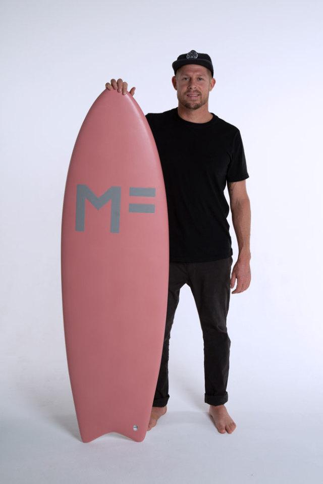 ミックファニングソフトボード キャットフィッシュ 5'10