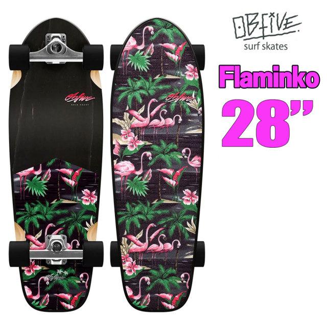 オービー ファイブ サーフスケート フラミンゴ OB Five  Flaminko RKP-1 28インチ