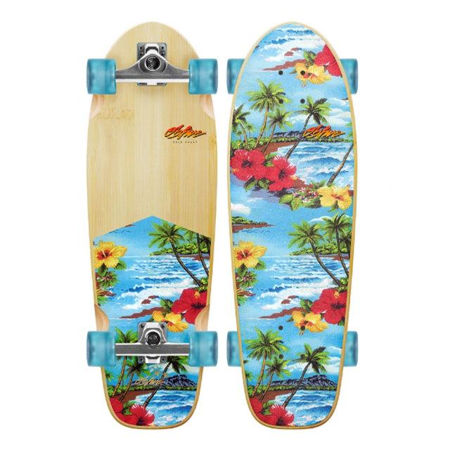 オービー ファイブ サーフスケート パラダイスシティグロム OB Five Paradise City Grom RKP1 Surf Skate 28インチ