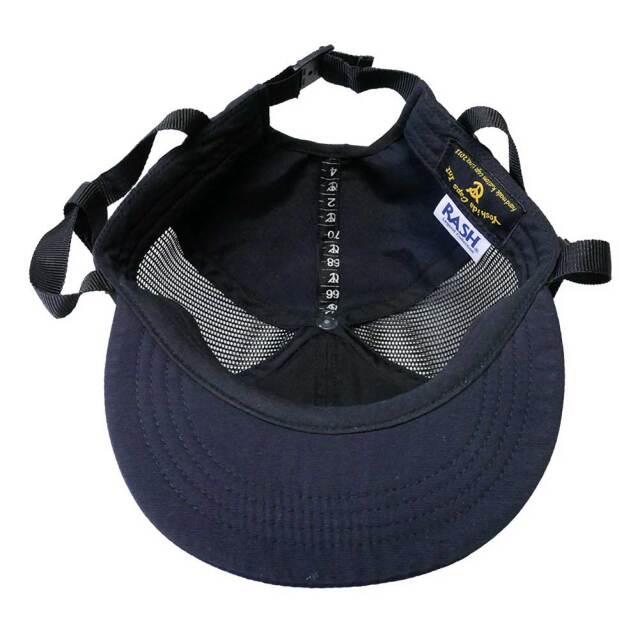 メンズ キャップ 帽子 ラッシュ サーフキャップ ブラック RASH