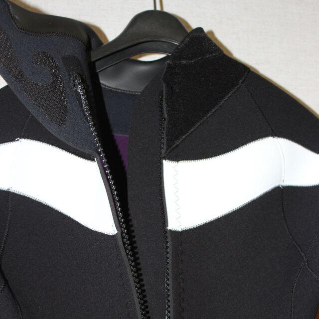 現品限り ウェットスーツ レディース ラッシュ スプリングスーツ ロングスプリング バックジップタイプ 3.5mm×2mm