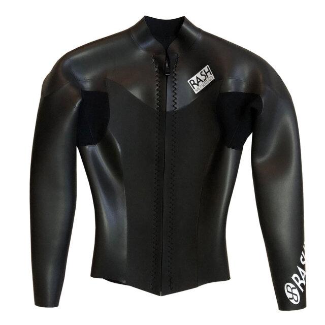【送料無料】 サーフィン ウェットスーツ タッパー RASH メンズウェットスーツ 限定 ロングスリーブタッパー フロントファスナー 2mm オールスキン フロントジップ 夏 海 ファッション