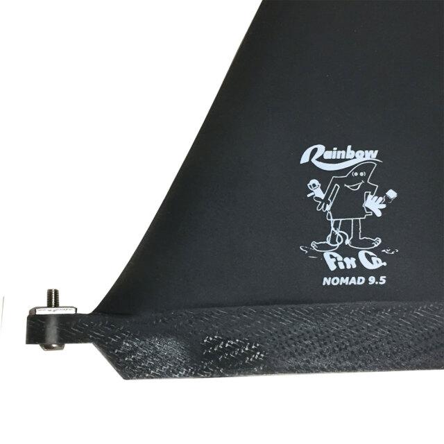 レインボーフィン ロングボード センターフィン ノマド 9.5 スモーク