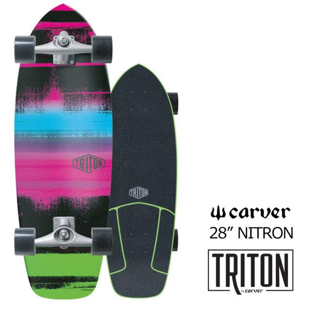 スケートボード コンプリート カーバースケートボードトリトン ニトロン 28インチ