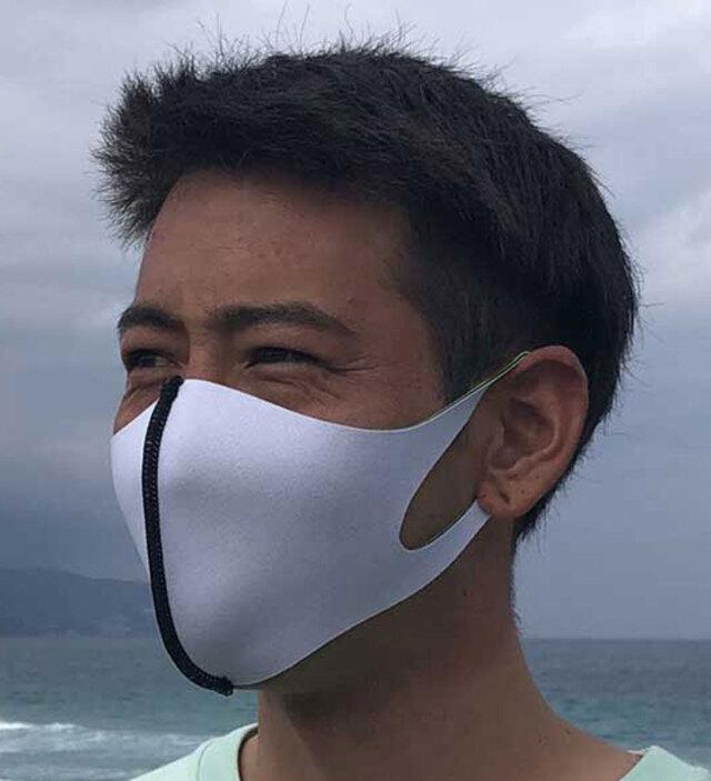 マスク 在庫あり 洗えるマスク ネオプレーンフェイスガード 男性用 女性用 子供用 大人用 日本製 白 黒 レギュラー スモール