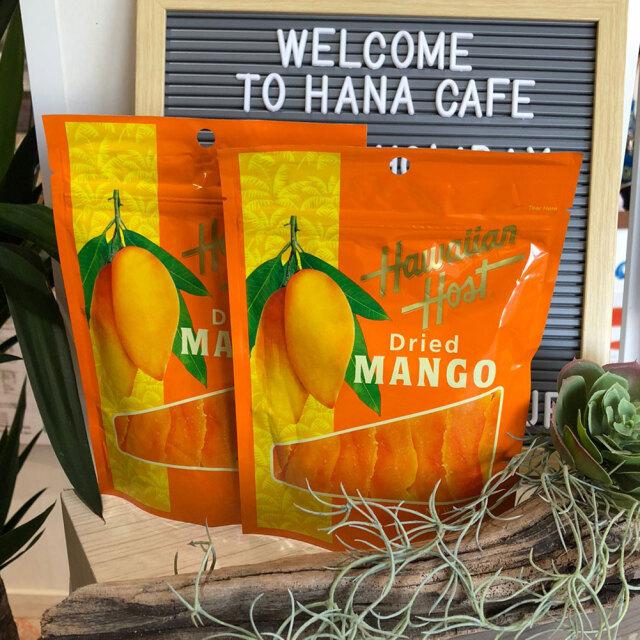 ハワイアンホーストドライマンゴー 100g Hawaiian Host Dried MANGO