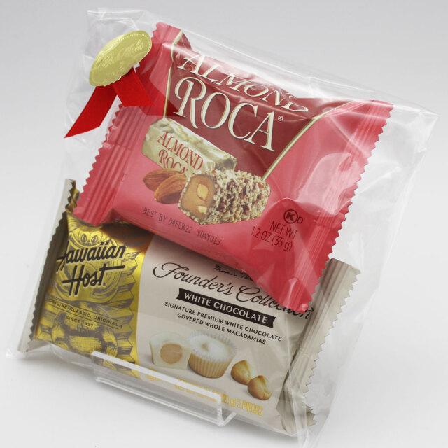 チョコ ギフト 2個入 個包 ハワイアンホースト マカダミアンナッツ チョコレート セット