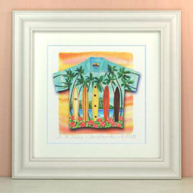 栗乃木ハルミ「Aloha/surfing」