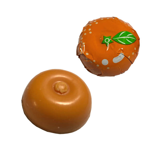 みかんちょこれーと チョコレート プチギフト 9粒入り