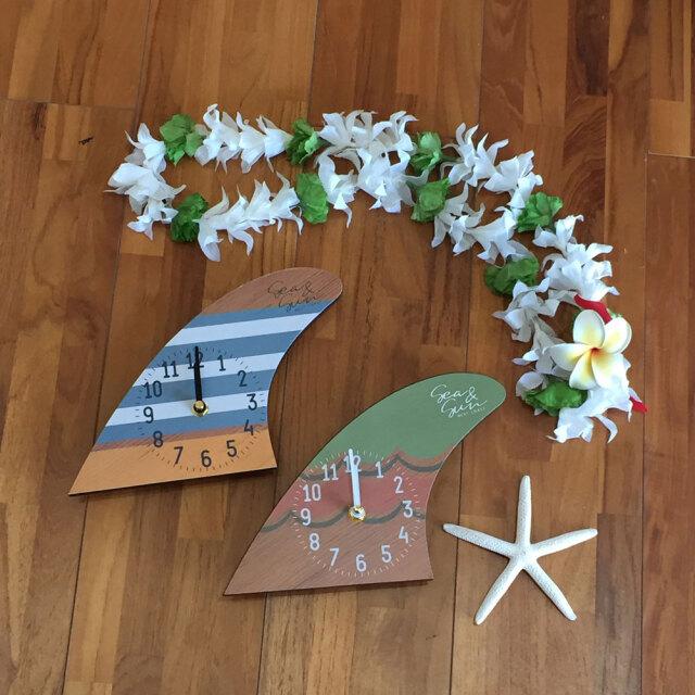 キーストーン Sea&Sun ボードフィンクロック