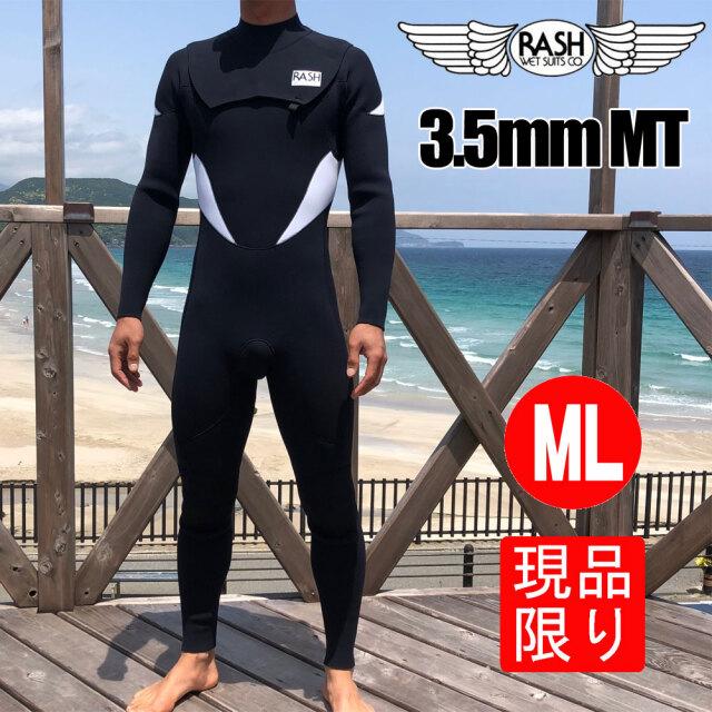 RASH ウェットスーツ メンズ フルスーツ ノージップタイプ 3.5mm 限定 MT Limited Version