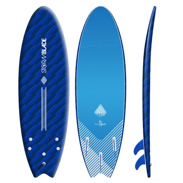 ソフトボード ストームブレード スワローテールサーフボード 6'0 STORM BLADE 6ft SWALLOW TAIL SURFBOARD ソフトサーフボード
