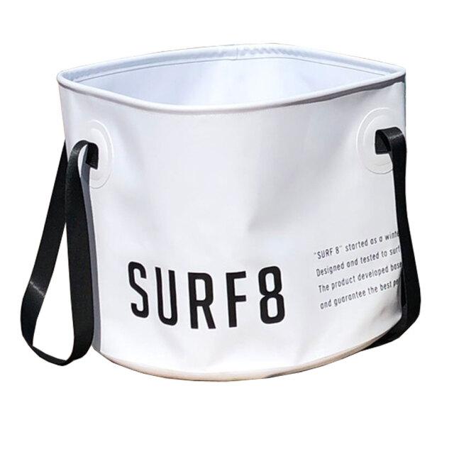 サーフィン バケツ サーフエイトユーティリティーバケツ L  ウェットバッグ SURF8 8SA9T1