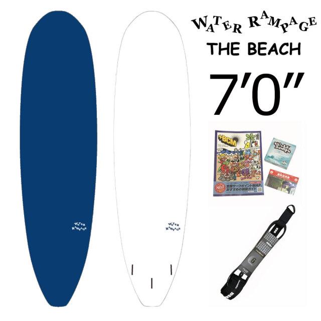 ファンボード ソフトボード ウォーターランページ サーフボード ザ・ビーチ WATER RAMPAGE THE BEACH 7'0