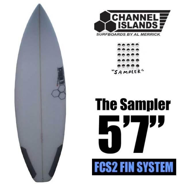 サーフボードCHANNEL ISLANDS チャンネルアイランド The Sampler 5'7