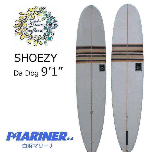 ロングボード ディックブルーワーサーフボード ダ・ドッグ  DICK BREWER Da Dog 9'1