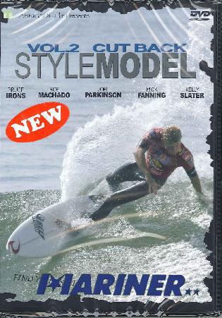 STYLE MODEL(スタイルモデル)vol.2 CUT BACK 世界最高のスタイルマスター達のカットバックにフォーカス!/サーフィンDVD