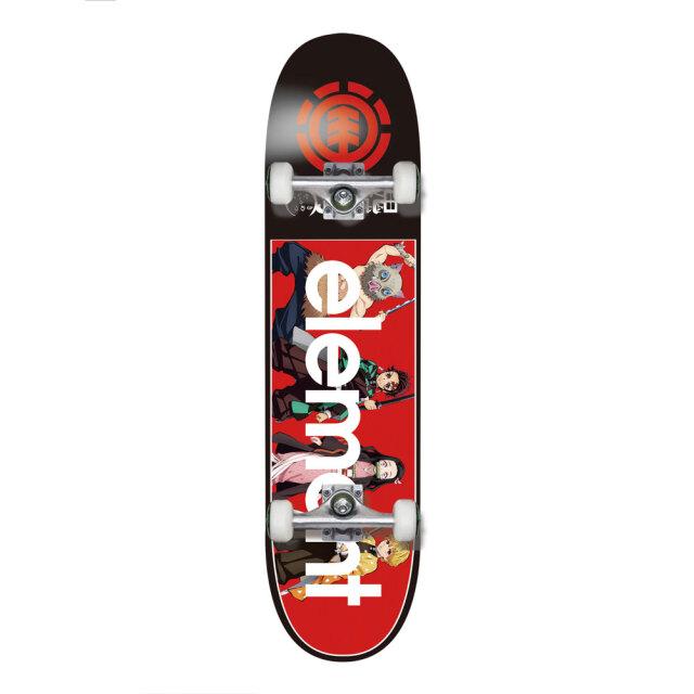 エレメント スケートボード コンプリート 鬼滅の刃 ELEMENT KIMETSU A COMP 8インチ BB027444 SKATEBOARD