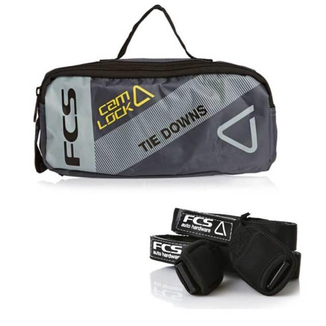 FCS TIE DOWN STRAPS キャリア用ストラップ /サーフボードキャリア サーフィンカー用品