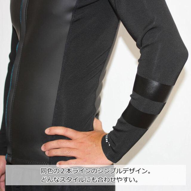 ハーレーメンズウェットスーツ 1mm ジップジャケット