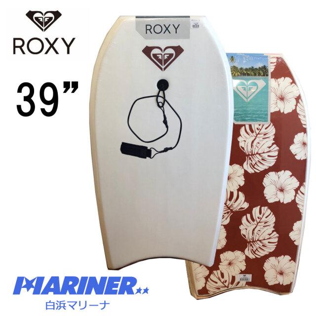 ボディボード 39インチ ROXY RX ロキシー ボディーボード BODYBOARD EPS BB カーリープレミアムリーシュコード付き