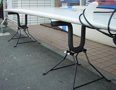 【送料無料キャンペーン】サーファーズスタンドポータブルSURFER'S STAND PORTABLU /サーフボードスタンド サーフボードラック サーフィン