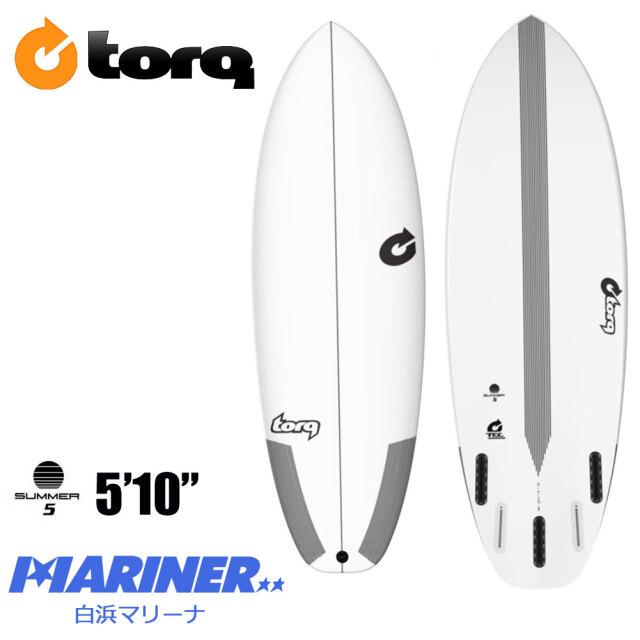 ショートボード 5'10 トルクサーフボード サマーファイブ TORQ SurfBoard TEC SUMMER5 エポキシボード サーフボード サーフィン EPS